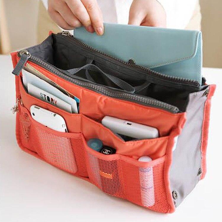 Nylon Cosmetic Bag Female Makeup Bags Organizer Men Women Travel Beauty  Bags Lady Toiletry bag kits 0b9dcb7d929ea