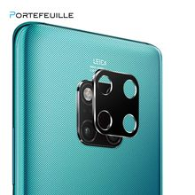 PORTEFEUILLE Coque Metal Aluminum Camera Lens Screen Protector Cover Film For HUAWEI Mate 20 X P30 P20 Lite Pro Psmart 2019 case(China)