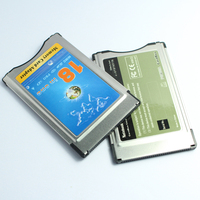 18 in One MMC SD SDHC MS PRO XD Card Reader into PCMCIA Memory Card Adapter PCMCIA ATA Card Adapter/Reader