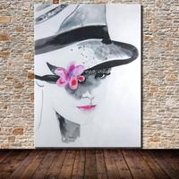 Frameless Pictures Hand Painted Oil Painting Sex Girl Wall Art Handmade People Oil Painting On Canvas