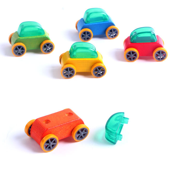 aliexpresscom buy 5 pcs baby wooden brand car toys kids and child wood multi color pull back mini cartoon racing car toys free shipping from reliable