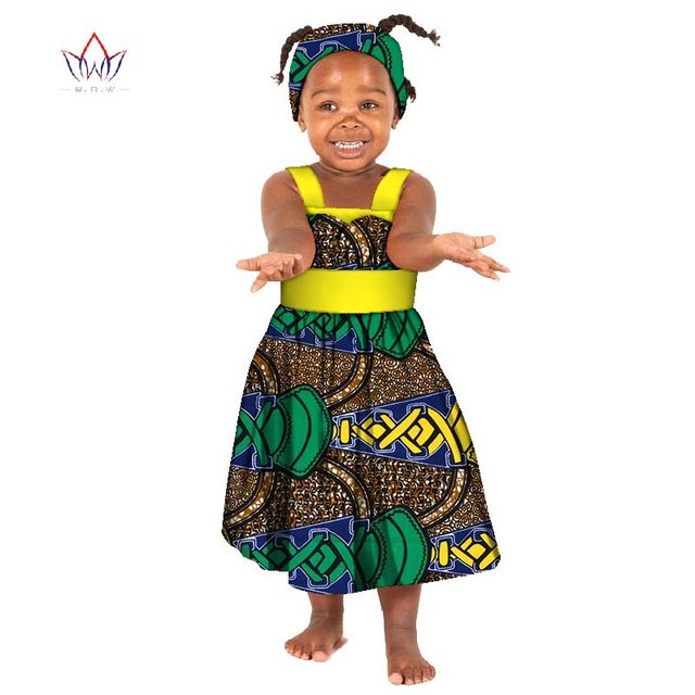 f1d14d993e856 US $39.66 |African Bazin Riche Kid Dresses 2018 Dashiki Patchwork Cute  Girls Dresses African traditional clothing for Children WYT163-in Women's  Sets ...