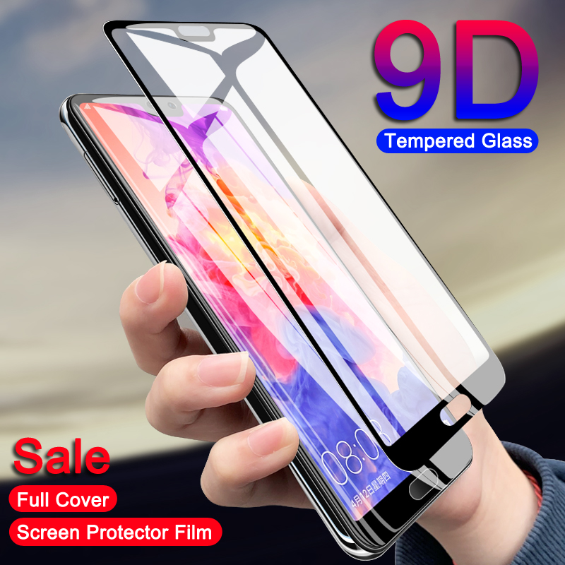 YHDKSA 9D Tempered Glass For Huawei P20 Pro P10 Lite Plus For Huawei P9 Lite