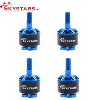 4 adet/grup Skystars 1408 3800KV 2S-4S fırçasız Motor için 130 140 150 RC oyuncaklar Multicopter siyah