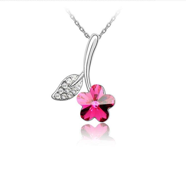 Flower Necklaces Pendants 2