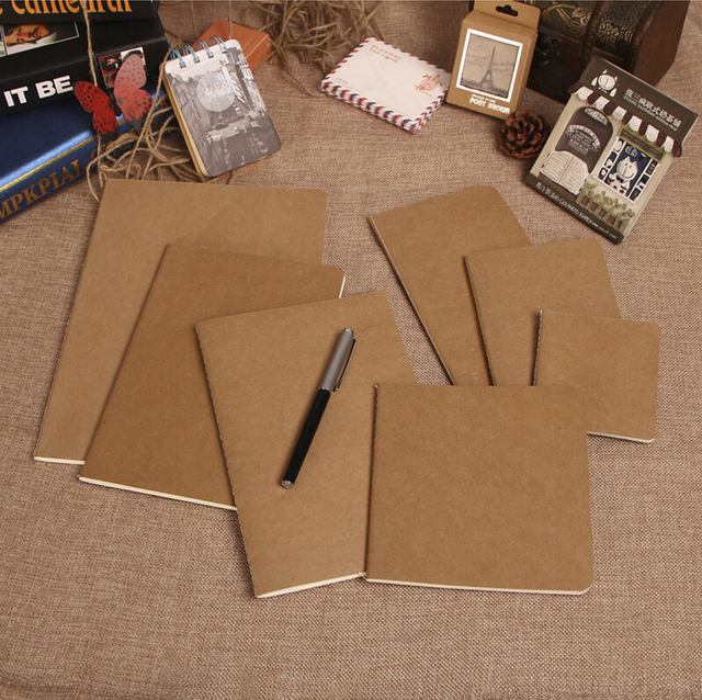 korea vintage stationery notebook high quality paper notepad