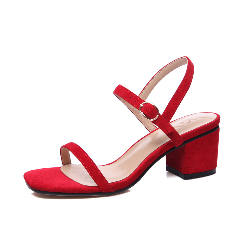 Red Dress Sandals Promotion-Shop for Promotional Red Dress Sandals ...