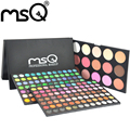 MSQ Mulheres 183 Cores de Maquiagem Cosméticos Paleta Da Sombra Com Cheek Blush Maquiagem Adequado Para Maquiagem