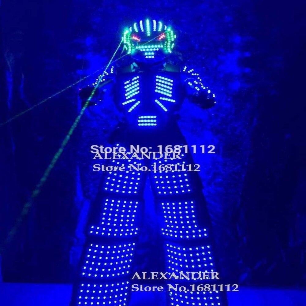 Costume de vêtements de LED/Costume de robot de LED/costumes de Robot de LED