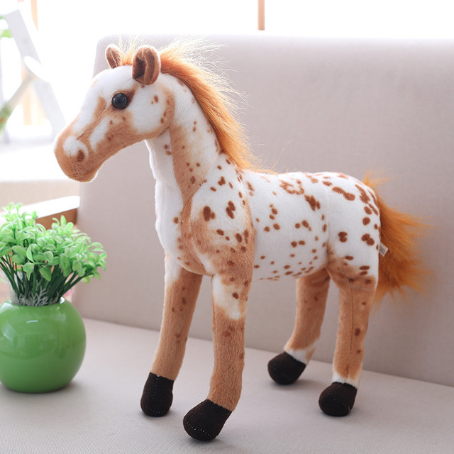 30CM Hot toys: Horse family pack Simulation model Animals kids toys children educational props horse figure Action Figures