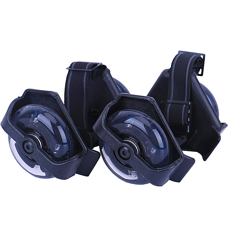 1 * Pair Flashing Roller Skating Shoes Small Whirlwind Pulley Flash Wheel Roller Skates Sports Rollerskate Shoes For Adult Kids