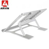 Arvin Folding Laptop Stand Zes Hoek Verstelbare Ergonomische Draagbare Cooling Notebook Stand voor Oppervlak Macbook Air Pro 10-17 inch