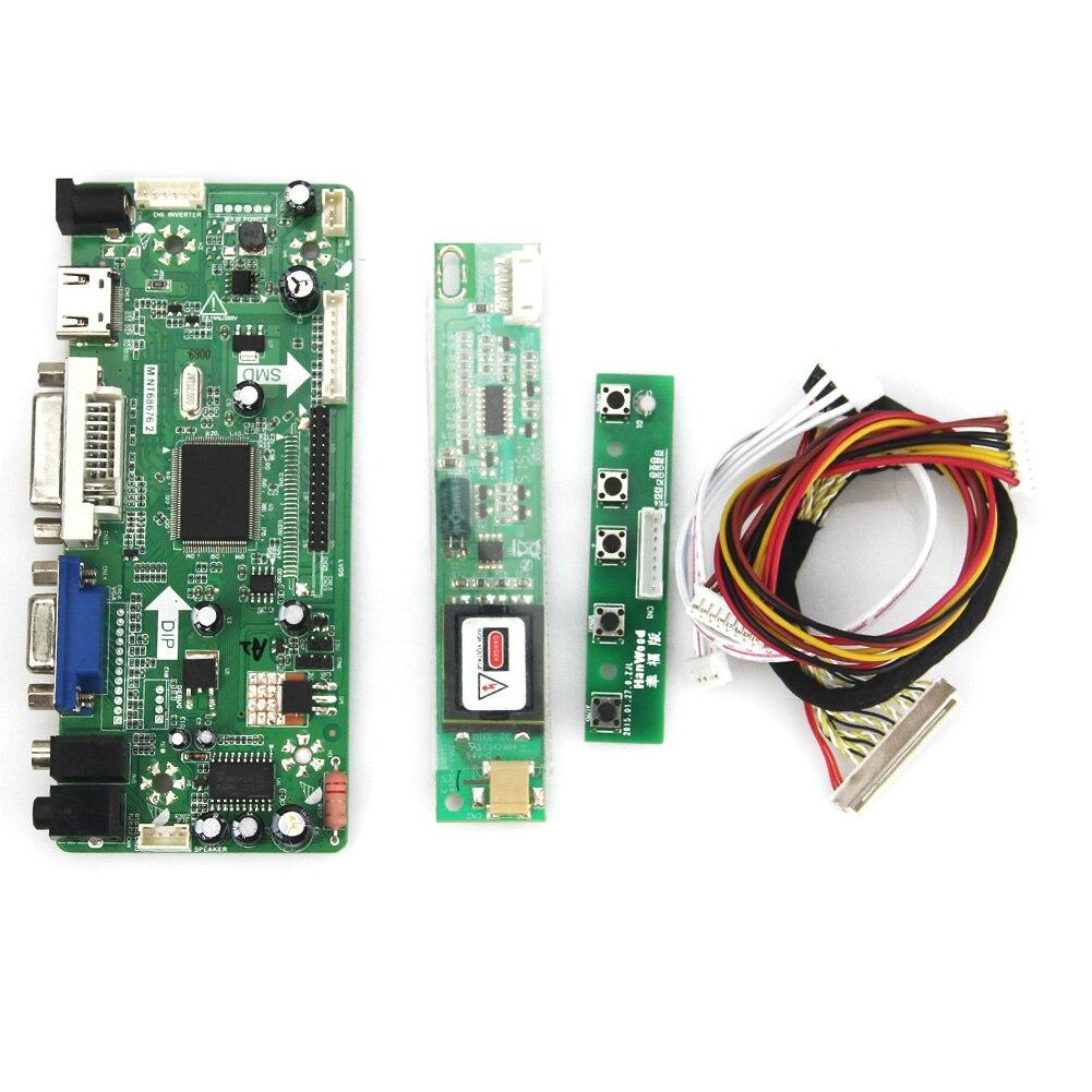 LCD/LED Controller Driver Board M.NT68676  (HDMI+VGA+DVI+Audio) 1440*900 for LTN170WX-L05 LP171W01 переходник aopen hdmi dvi d позолоченные контакты aca311