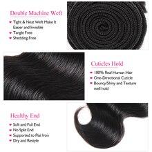 Brazilian Body Wave Ombre Hair Bundles Human Hair