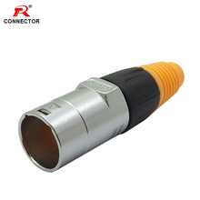 RJ45 Waterproof Connector Male Plug Ethernet IP65 Straight Type