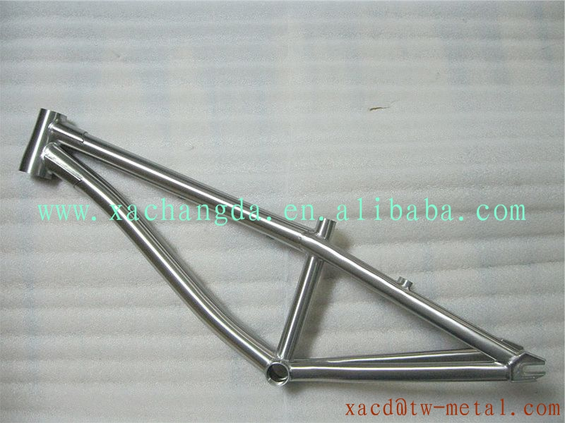 taper head tube design titanium bmx bike frame customized titanium bmx bicycle frame made xacd 26titanium bmx bike frame