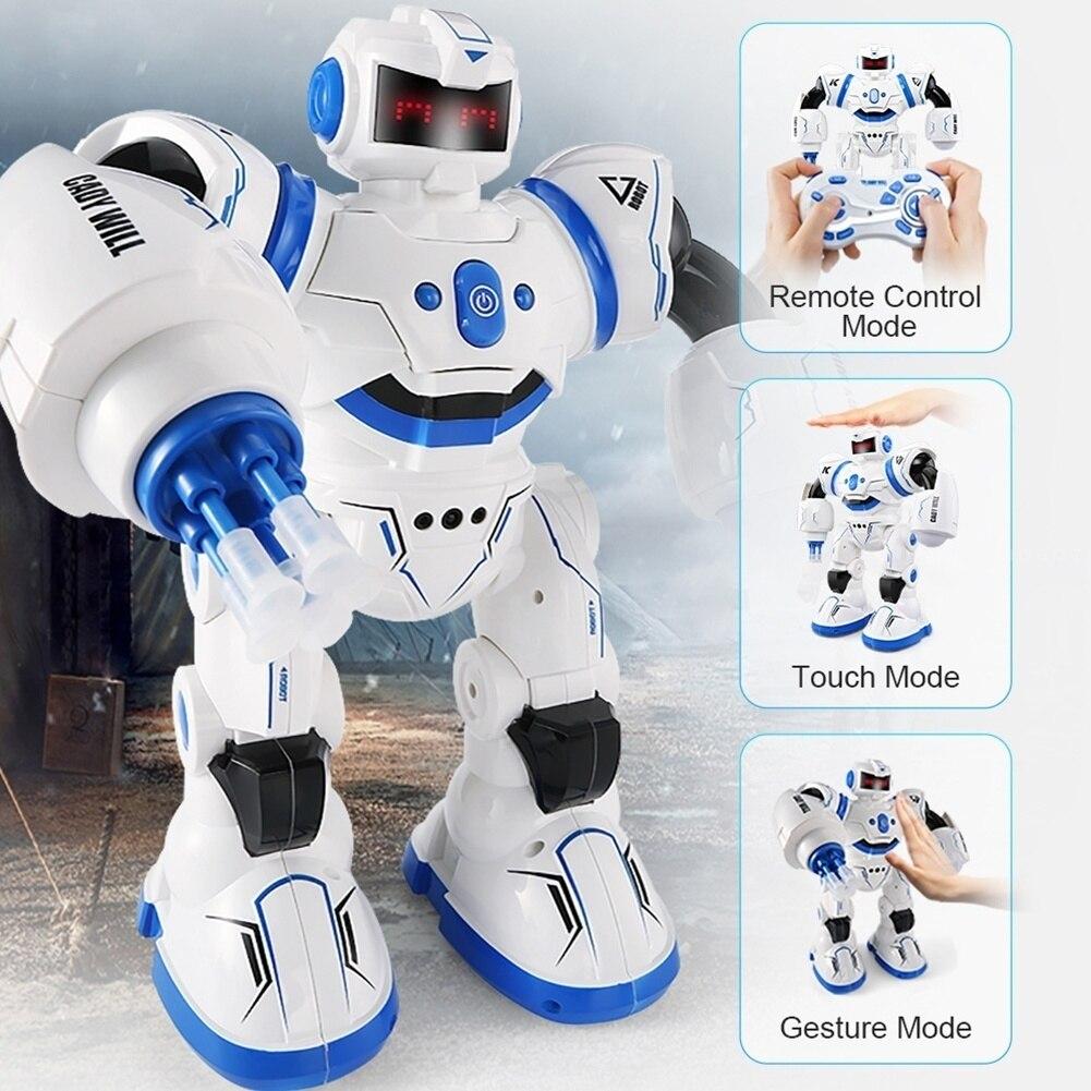 JJRC R3 contrôle infrarouge Programmable Combat défenseur Intelligent RC Robot humanoïde Robot enfants cadeaux