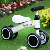 Baby Walker Tricycle Riding Toys Children Four Wheel Balance Bike Scooter Portable Bike No Foot Pedal Bicycle Baby Walker Car