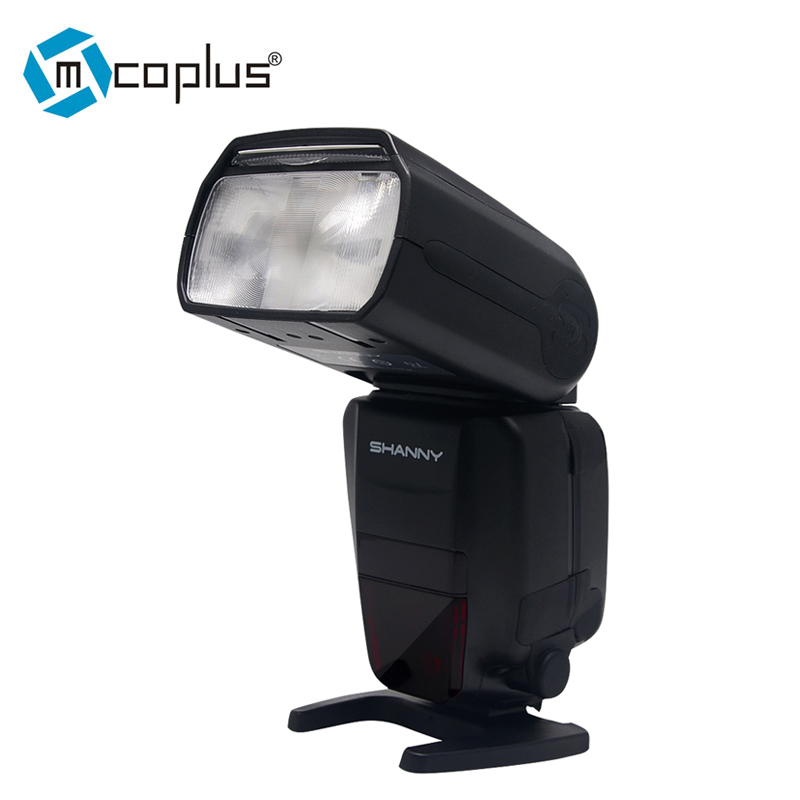 Mcoplus Shanny SN586-RF 2.4G Wireless HSS Master TTL Flash Speedlite for Nikon D3400 D5300 D3100 D3200 D3300 D7200 D90 Camera godox tt600 gn60 2 4g wireless ttl hss flash speedlite x1t n xpro n trigger for nikon d3200 d3300 d5300 d7200 d750 d90 camera