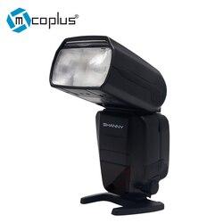 Mcoplus Shanny SN586-RF 2.4G Wireless HSS Master TTL Flash Speedlite for Nikon D3400 D5300 D3100 D3200 D3300 D7200 D90 Camera