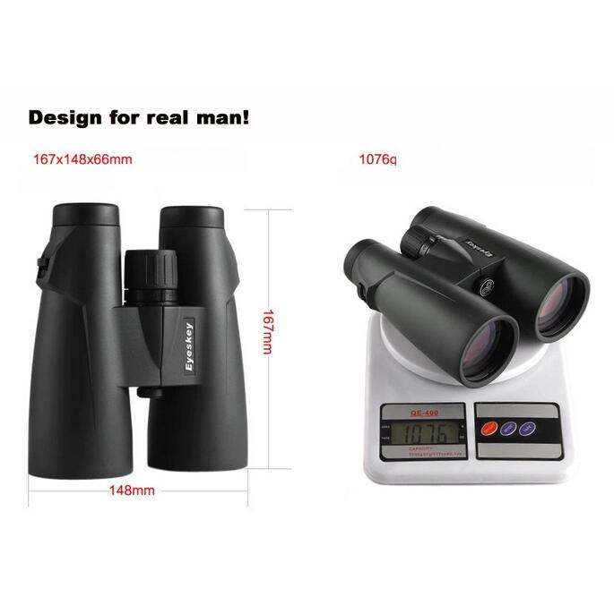 Top Level 8x56 Binocular telescope bird watching Waterproof fogroof Bak4 binoculars full with the Nitrogen for hunting in Monocular Binoculars from Sports Entertainment