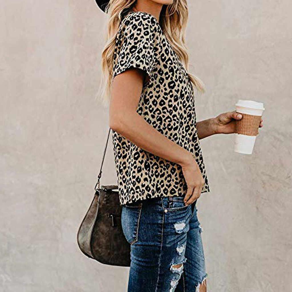 ユーモア Tシャツ女性カジュアルかわいいシャツヒョウ柄の基本的なトップス半袖ソフト Tシャツファム流行の女性の Tシャツ dracarys