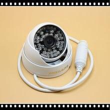 48 V PoE IP Cámara Al Aire Libre Full HD 1080 P 2MP POE Domo IP de Cámaras de Seguridad P2P ONVIF PoE Impermeable Cable
