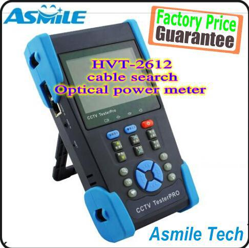 The newest 3.5 TFT-LCD CCTV tester HVT-2612 PTZ controller/Colorbar generator /UTP cable test/