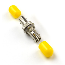 50pcs/lot ST to Yellow Hat Single Mode Fiber Optic Connector for Telecommunication