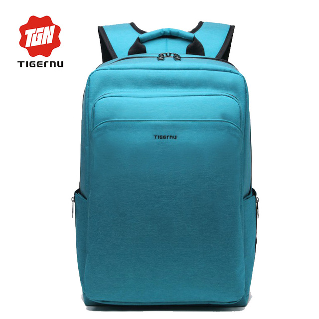 2017 Tigernu Women school backpack for teenagers fashion backpack male Anti-theft waterproof 14inch 17inch laptop backpack case