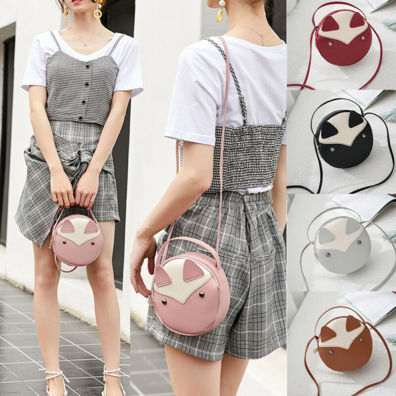 Women Girl Wallet Purse Bag Lady Leather Handbag Shoulder Bag Coin Cell Phone Mini Cross-body Shoulder Bag
