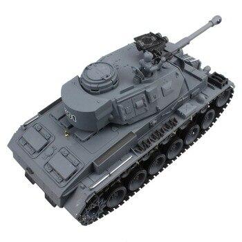 RC Tank 15 Channel 1/20 Panzerkampfwagen German Panther 4 Main Battle