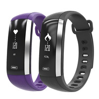Newest Multifunction M2 Blood Pressure Wrist Watch Pulse Meter Monitor Call Message reminging Smart Bracelet Fitness Smartband