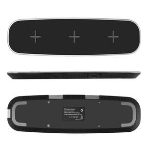 Image 4 - 3 ב 1 צ י אלחוטי מטען עבור iPhone X 8 בתוספת מהיר טעינה אלחוטי Pad עבור סמסונג גלקסי S6 S7 קצה S8 S9 בתוספת הערה 8 9