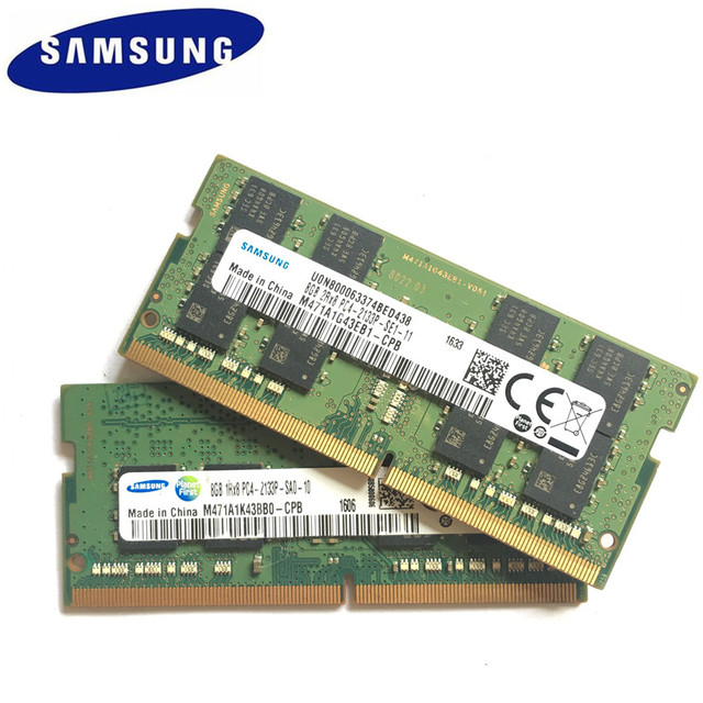 Samsung Laptop DDR4 16GB 8GB 4GB PC4 2133MHz lub 2400MHz 2400T lub 2133P DIMM pamięć do notebooka 4G 8G DDR4 RAM