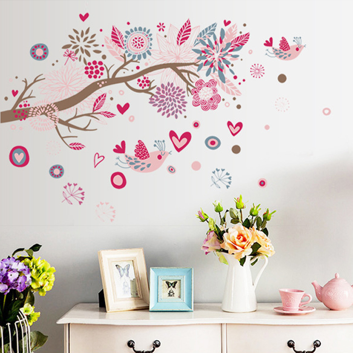 Bohemia. Dream of the sea The sitting room decorative wall stickers in background third generation