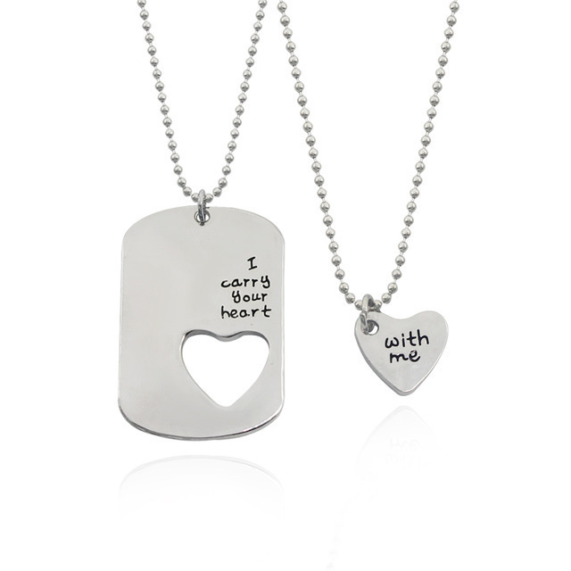 Best Friends Matching Jewelry Necklace