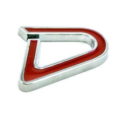 Badge pour l'arrière de voiture avec Logo D, 1 pièce, emblème pour Mini Cooper JCW, MINI COUNTRYMAN, styliste de voiture