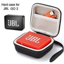 Чехол для JBL Go 2, Жесткий Чехол, дорожная сумка для JBL GO 2, портативная беспроводная Bluetooth колонка