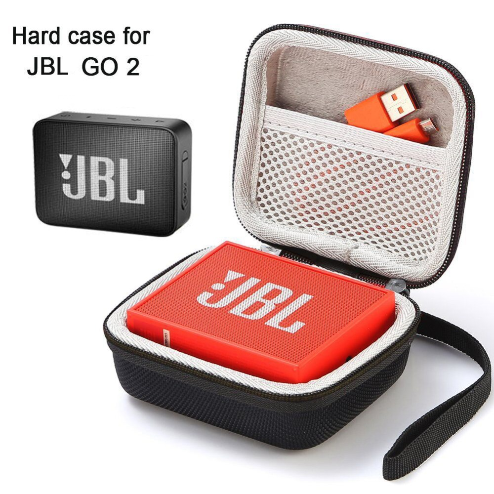 Case For JBL Go 2, Hard Case Travel Carrying Bag For JBL GO 2 Portable Wireless Bluetooth Speaker