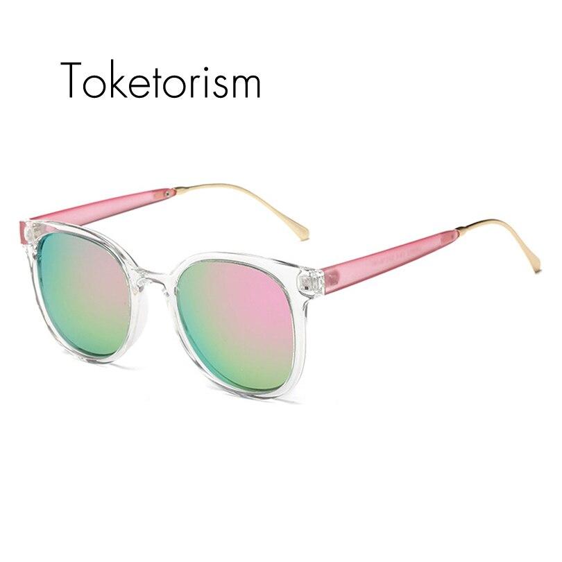 Toketorism Super font b fashion b font pink sunglasses mirrored lenses gafas de sol polarizadas for