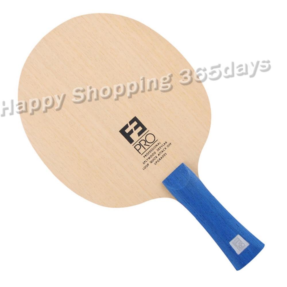 Sanwei F3 PRO (5 + 2 ALC, Prime Ayous Surface, OFF + +) arylate Carbone Tennis De Table Lame de Ping-Pong Raquette Bat
