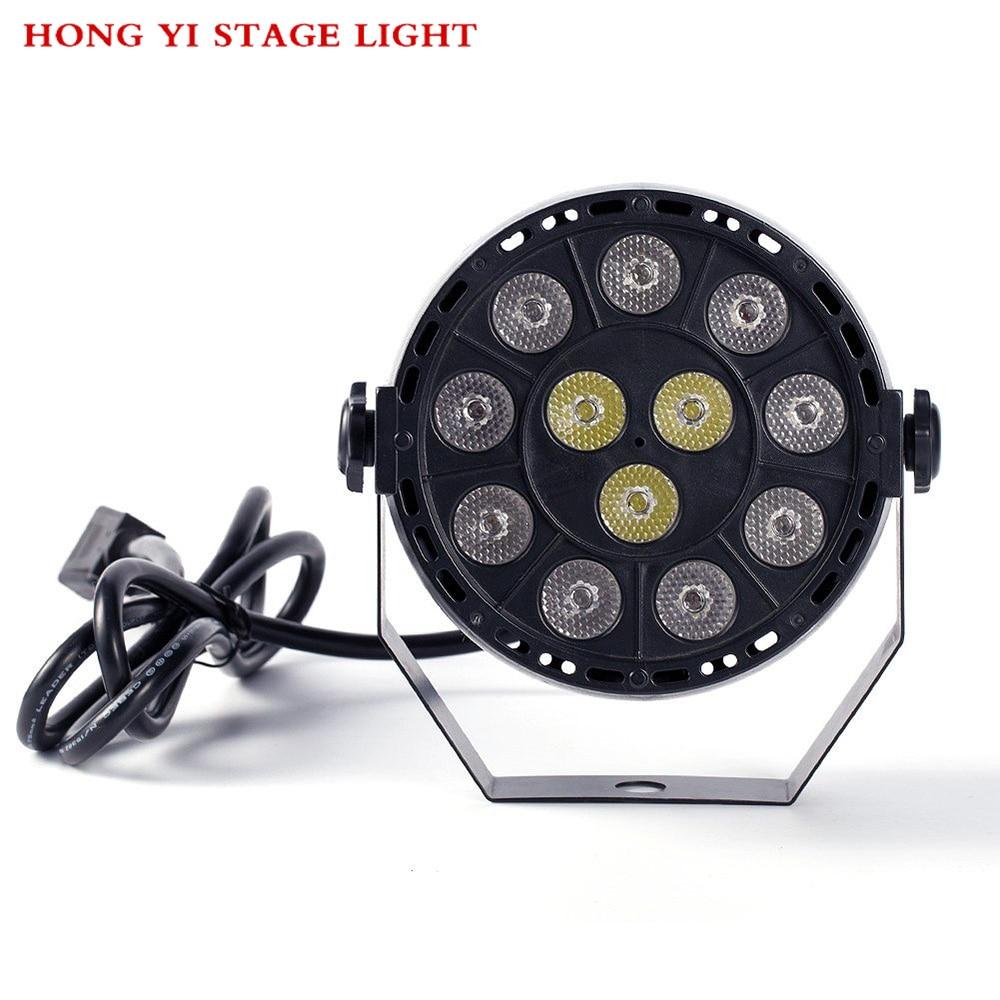 Disco 12x3W Led Par RGBW 8CH DMX Party Stage Lighting Effect STROBOSCOPE BEAM