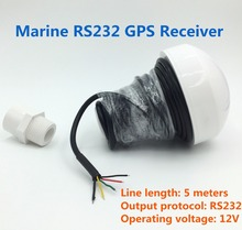 for marine 12V RS232 font b GPS b font receiver RS 232 GNSS font b GPS