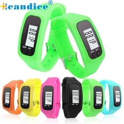 Splendid electronic watch digital lcd pedometer run step walking distance calorie counter watch bracelet reloj mujer.jpg 250x250