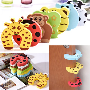 5pcs/lot door stops stopper for the baby protector safty security child kids safety children products securite enfant doorstop