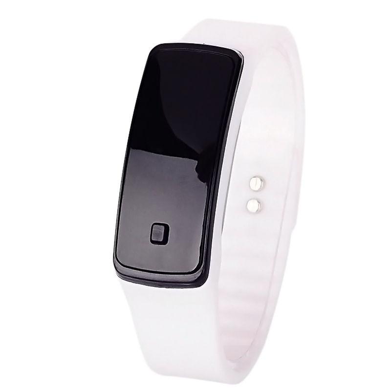 FUNIQUE Moda dzieci cyfrowy zegarek kobiet mężczyzn elektroniczny - Zegarki dziecięce - Zdjęcie 4