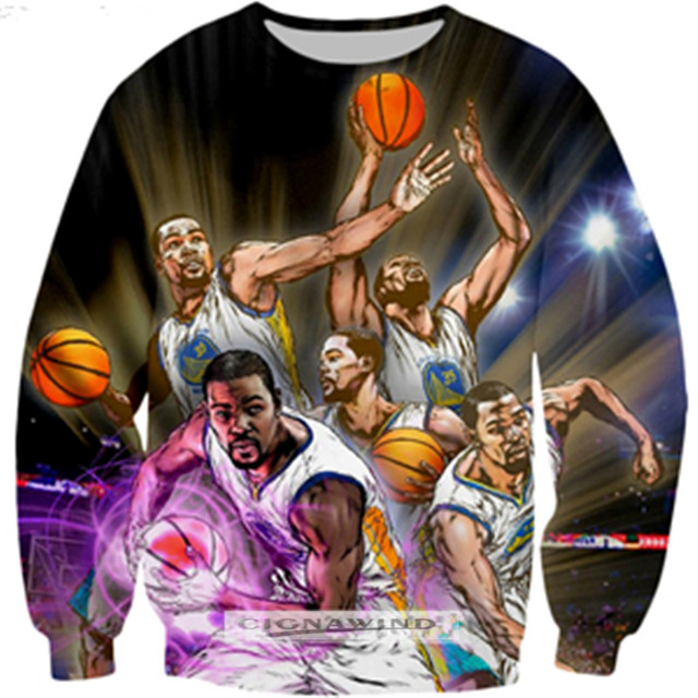low priced 0412a 2d2de US $14.99 25% OFF|New Fashion Sweatshirt Men Women hoodies Stephen Curry  character Print 3D Long sleeve Pullover casual streetwear tracksuit S  5XL-in ...