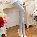 Nuevo Algodón Del Otoño Del Resorte Polainas de Maternidad para Las Mujeres Embarazadas Pantalones De Maternidad Elástico de talle alto Pantalones de Embarazo B179