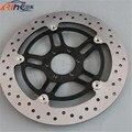 motorcycle Aluminum alloy&Stainless steel front brake disc rotos For Honda VTR250 98 99 2000 20001 2002 2003 2004 2005 2006 2007